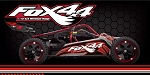FOX4x4 1/10 BLEP 4WD FunCage Buggy (Red)